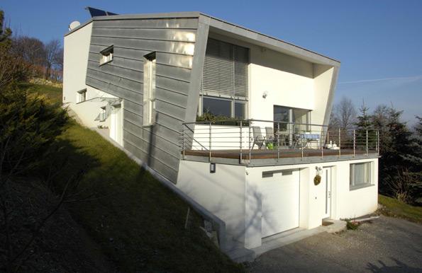 architope projekte hanghaus klosterneuburg. Black Bedroom Furniture Sets. Home Design Ideas